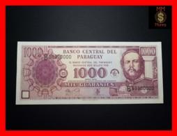 PARAGUAY 1.000  1000 Guaranies 2002 *COMMEMORATIVE*   UNC - Paraguay
