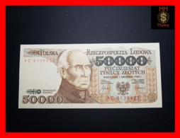 POLAND 50.000 50000 Zlotych 1.12.1989 P. 153  UNC - Pologne