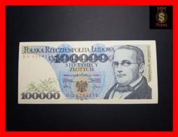POLAND 100.000 100000 Zlotych 1.2.1990 P. 154   VF++ - Pologne