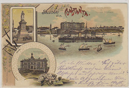Salutari Din Constanta - Litho  - 1899       (A-214-200109) - Rumänien