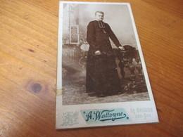 CDV Foto,edit Alfons Watteyne, Brugge - Ancianas (antes De 1900)