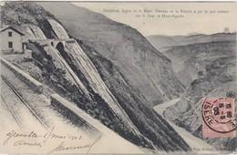 Dauphiné Ligne De La Mure Passage De La Rivoire ( Chemin De Fer ) - Sonstige Gemeinden