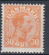 +M282. Denmark 1921. King Christian X. Michel 123. MNH(**) - 1913-47 (Christian X)