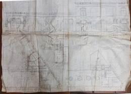 Hamme Ancien Plan Architecte    - Edouard Bouwen (architecte De La Ville De Dendermonde Au 19 ème) - Architecture