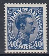 +M283. Denmark 1922. King Christian X. Michel 124. MNH(**) - 1913-47 (Christian X)