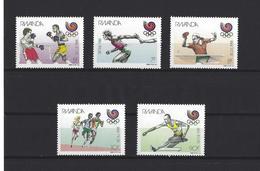 Rwanda: 1328/ 1332 **  Séoul 88 - Ruanda