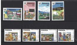 Rwanda: 1315/ 1318 + 1320/ 1323 ** - Ruanda