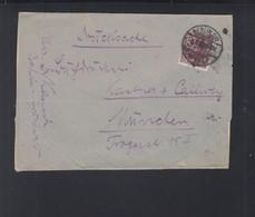 Dt. Reich Streifband Berlin Nach München - Deutschland