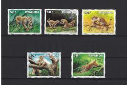 Rwanda: 1310/ 1314 **   Léopards - Ruanda