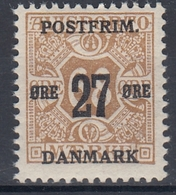+M290. Denmark 1918. Surprinted Due Stamps. Michel 93. MNH(**) - 1913-47 (Christian X)