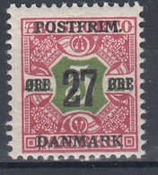 +M292. Denmark 1918. Surprinted Due Stamps. Michel 95. MNH(**) - 1913-47 (Christian X)
