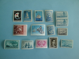 Bateaux Argentine Lot 15 Timbres Anciens Yv PA43/5 - PA99 -PA123 -430 -437 -448 -514 -601 -603 -634 -669  821  ** MNH - Argentina