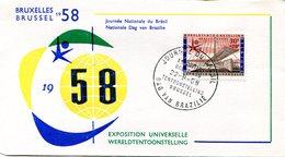 14158168 Belgium 19580922 Bx Expo58; Journée Du Brésil; Pli - 1958 – Brussels (Belgium)
