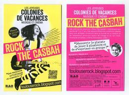 Vacances Artistiques Pâques Et Juillet 2015 - Rock The Casbah - Smiling Girl Playing Electric Guitar - Toulouse, France - Other