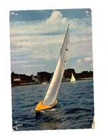 Carte Yacht Requin Flamme Benodet Sur Mazzini - Veleros