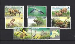 Rwanda: 1281/ 1288 **  Animaux Divers - Ruanda