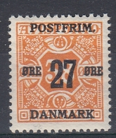 +M300. Denmark 1918. Surprinted Due Stamps. Michel 91. MNH(**) - 1913-47 (Christian X)