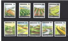 Rwanda: 1266/ 1274 ** - 1980-89: Neufs