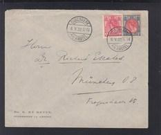 Niederlande Brief 1922 Ouderkerk Nach München - 1891-1948 (Wilhelmine)