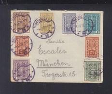 Österreich Brief 1922 Innsbruck Nach München - 1918-1945 1. Republik