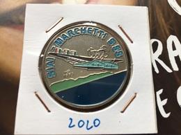 Cuba 1 Peso 1995 Multicolored SIAI Marchetti Seaplane Low Mintage Rare Unc - Kuba