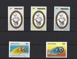 Rwanda:   1240/ 1244 ** - Ruanda