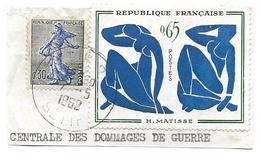 1958/1962 DEPARTEMZNT FRANCAIS En ALGERIE Timbre Obl  1320 + 1234 A  SETIF - Used Stamps