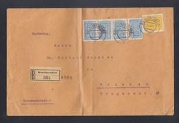 Österreich R-Brief 1923 Bruckneudorf Nach München - 1918-1945 1. Republik