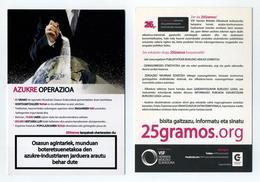 CP Pub Pays Basque, Pais Vasco, Euskal Herria - Opération Sucre - Azukre Operazioa - Lire Description - Unclassified