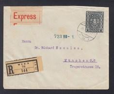 Österreich Expresbrief 1924 Wien Nach München - 1918-1945 1. Republik