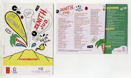 Zénith Sud Montpellier. Programmation 2015-16 Avec : Véronique Sanson, Cabrel, I Muvrini, Dieudonné, Brigitte, Autres... - Zirkus