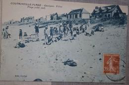 50 Manche CPA Coutainville  Plage  Quelques Villas Plage Côté Sud - Autres Communes
