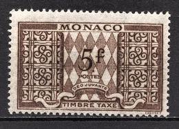 MONACO 1946 / 1957  N° 36  - TT NEUF** /3 - Postage Due