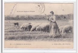 PERIGORD : La Bergere Et Ses Moutons - Etat - Autres Communes
