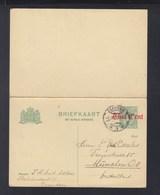 Niederlande GSK Zaandam 1920 Nach München - Ganzsachen
