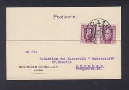 CSR PK 1925 Brünn Nach München - Tschechoslowakei/CSSR
