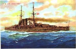 Austrian War Ship Viribus Unitis, Replica - Guerre