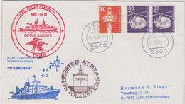 Germany 1985 Polarstern / Grönlandische See Cover (47489) - Polar Philately