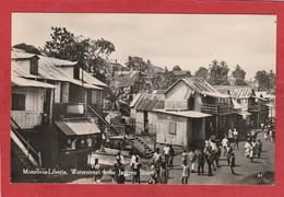 CPA: Liberia - Monrovia - Waterstreet From Jantzen Store - Liberia