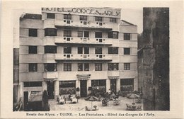 73 - UGINE Les Fontaines Hôtel Des Gorges De L'Arly Animée - Ugine