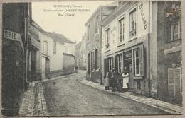 CP VERZENAY Etablissements Goulet-Turpin Rue Chanzy Epicerie - France