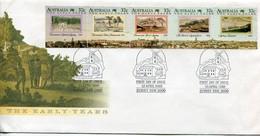 Australia Mi# 1106-10 FDC - Colonisation - FDC