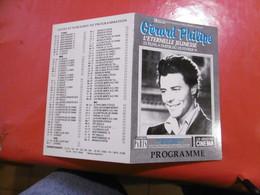 D 75 - Paris 5ème - Gérard Philipe 22 Films à Partir Du 20  - Au Reflet Medicis , Février 1991, Programme - France