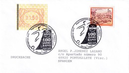 Austria 1999 Cover; Soccer Football Fussball Calcio; 100vYears Of FC RAPID; Frama Label - Coupe Du Monde