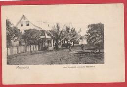 CPA: Liberia - Monrovia - Late President Johnson's Residence - Liberia