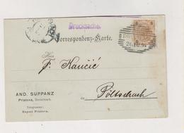 SLOVENIA,Austria 1904 PRISTOVA Postcard - Slovenia