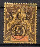 Col17  Colonie Nouvelle Calédonie  N° 57 Neuf X MH   Cote 30,00€ - Unused Stamps