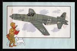 "Tintin : Chromo "" Zien En Weten "" Par Hergé : Aviation Guerre 1939-1945 : N° 55 Editions CASTERMAN. - Trade Cards"