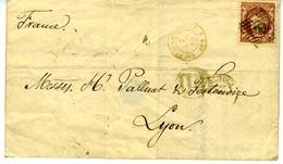 ESPAGNE 1872 Lettre De ALMERIA  à LYON  28 MAY 72   LC42 - Briefe U. Dokumente