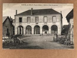 Montel De Gelat Mairie Et Ecole De Garçons  Puy De Dôme 63 - Autres Communes